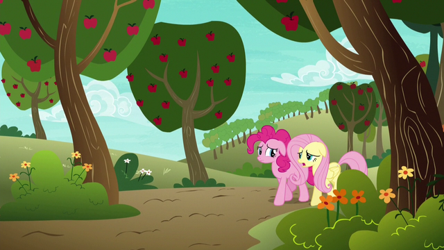 File:Pinkie Pie and Fluttershy walking home S6E18.png