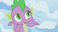 Spike asking about hibernation S1E11
