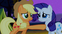 Applejack and Rarity S02E05