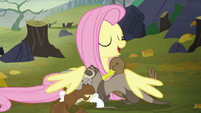 "Fluttershy ""I'm gonna take you all home with me"" S5E23"
