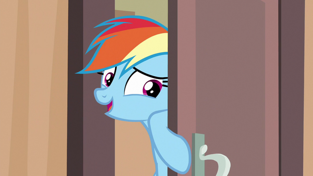 "File:Rainbow Dash ""just checking"" S6E13.png"