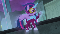 Twilight Sparkle as Masked Matter-Horn S4E06