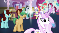 Crowd hears Rarity S5E14