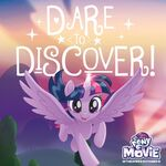 MLP The Movie 'Dare to Discover' promotional image