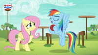 "Rainbow Dash ""it's all about ball control"" S6E18"