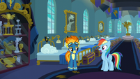 Rainbow Dash catches herself S6E7