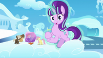 Starlight Glimmer clapping her hooves S5E26