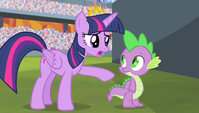 "Twilight ""you keep saying you let everypony down"" S4E24"