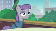 Maud Pie sitting at table with blank stare S6E3