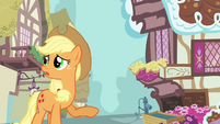 Applejack 'Is anypony else followin' this' S3E07