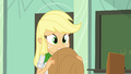 Applejack feeling guilty EG.png