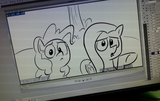File:Episode 619 animatic - Pinkie and Fluttershy.jpg