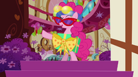 Pinkie Pie in ridiculous outfit S4E12