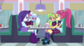 Rarity and Shadowbolts look at Sour Sweet EGS1.png