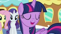 """Twilight """"let's go see this amazing baby pony!"""" S6E1"""