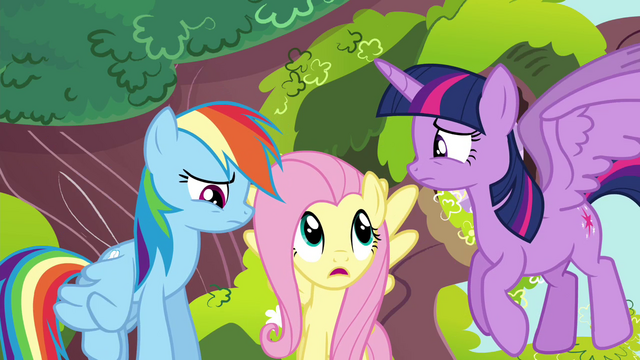 "File:Fluttershy ""is that any way to talk to a friend?"" S4E21.png"