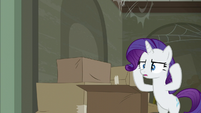 Rarity at a loss for words S6E9
