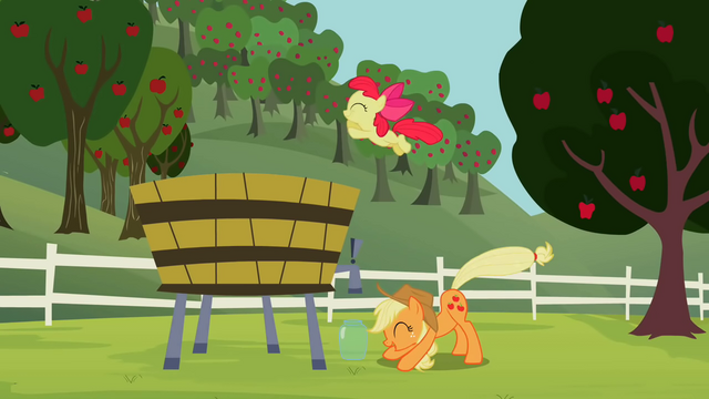 File:Apple Bloom jumping into the vat S2E05.png