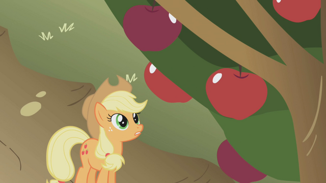 File:Applejack apples S1E04.png