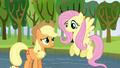Applejack thanks Fluttershy S03E10.png