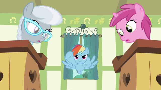 File:Rainbow Dash soars into classroom S4E05.png