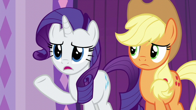 """File:Rarity """"maybe not everypony is waiting"""" S6E10.png"""
