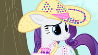 Rarity hears AJ S4E13