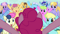 """Ponies cheering """"PINKIE!"""" S03E13.png"""