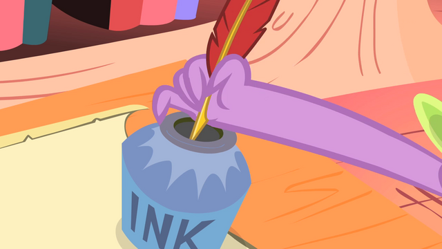 File:Spike dipping the quill S1E23.png
