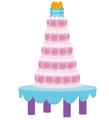 Canterlot Castle cake.png