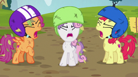 """Cutie Mark Crusaders """"they're not your carts!"""" S6E14"""