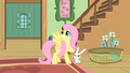 Fluttershy thanks Angel S01E22.png