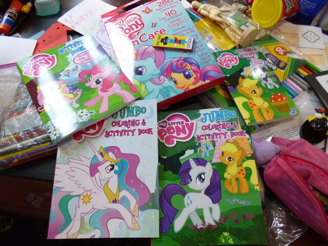 File:MLP coloring and activity books.jpg