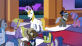 Prince Blueblood takes a look at Rarity S1E26.png