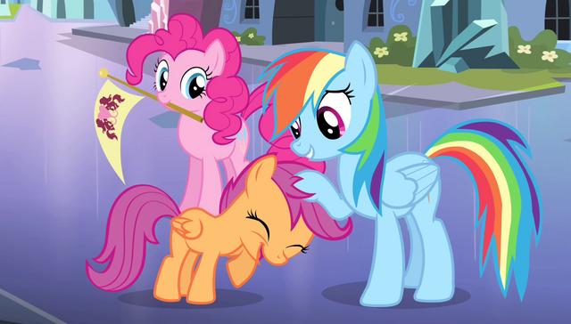 File:Rainbow Dash ruffling Scootaloo's mane S4E24.png