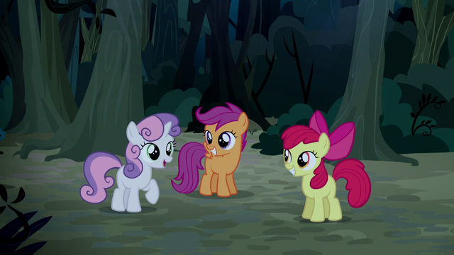 "File:Sweetie Belle ""he could still be in rodeo"" S5E6.png"