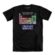 The Periodic Table of My Little Pony T-shirt WeLoveFine