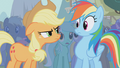 Applejack mad at Rainbow Dash S1E06.png