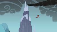 Dragon flying away S01E07