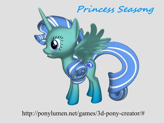 FANMADE Princess Seasong OC 3D