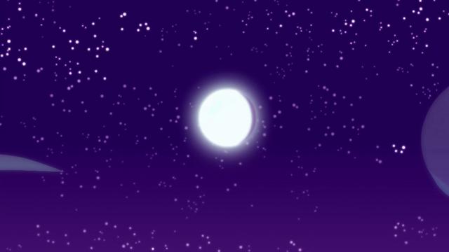 File:Moon shining over Canterlot High School EG4.png