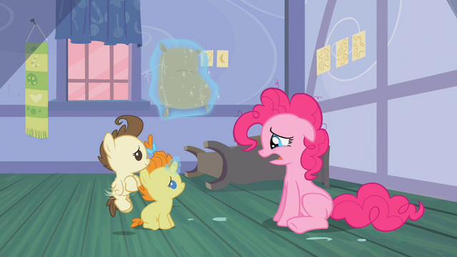 File:Pound and Pumpkin Cake looking at Pinkie Pie S2E13.png