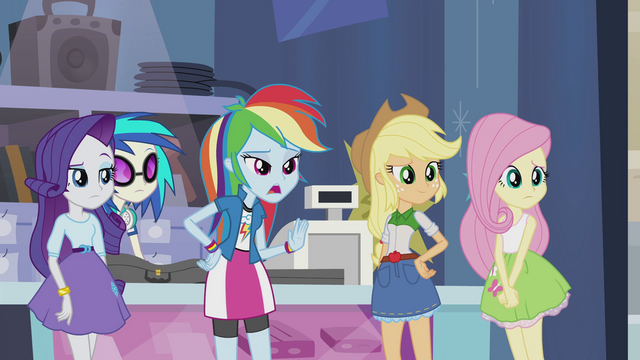 "File:Rainbow Dash ""no, Pinkie"" EG2.png"