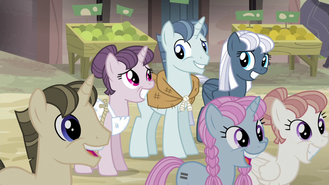 File:Sugar Belle, Party Favor, & Night Glider smiles S5E02.png
