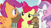 "Apple Bloom ""time like what?"" S7E8"