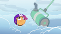 Cloudmower stops in front of Scootaloo S7E7.png