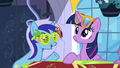 Minuette reminds Twilight of Moon Dancer's party S5E12.png