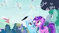 Ponies see floating leaf S4E16.png