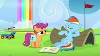 "Rainbow Dash ""yeah, right!"" S7E7"