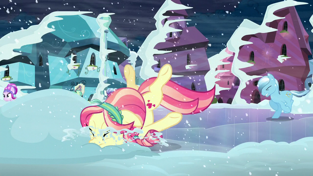 File:Crystal pony hits her face onto snow S6E2.png